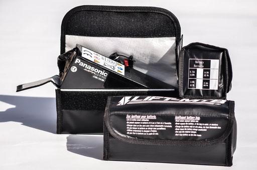 feuerfeste Tasche für Batterie Elektrofahrrad
