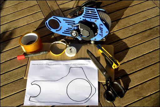 compatibilidad con kit de motor eléctrico