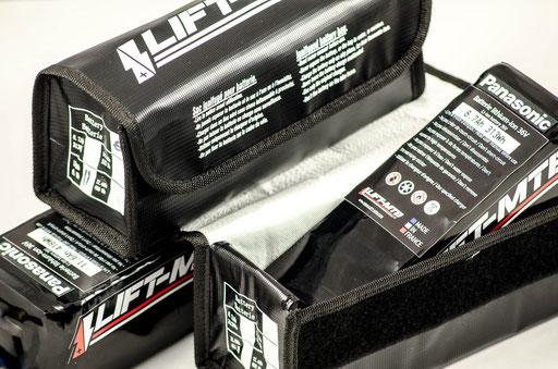 battery ignifuged bag