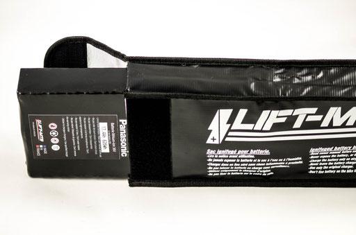 flat back pack ebike battery