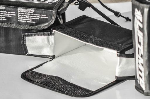sac ignifugé batterie vtt