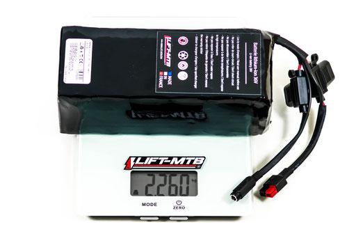 14Ah square electric mountain bike battery