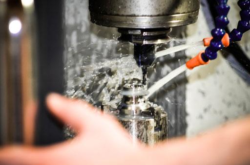 cnc work 8t cogs / usinage cnc pignon  lift