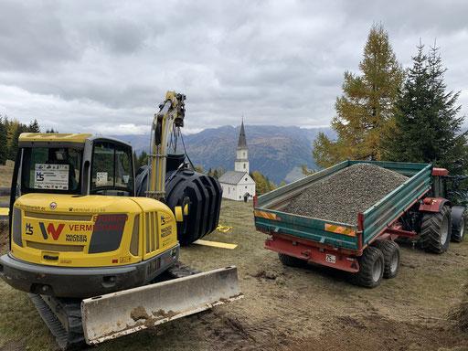 Senkgrube einbauen in  der Gemeinde Rangersdorf Materle