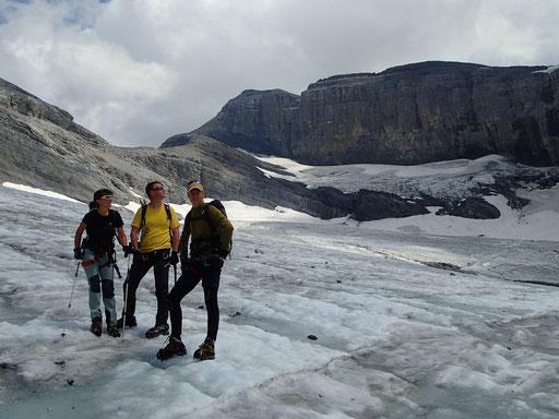 Ruan, Glacier et sommet