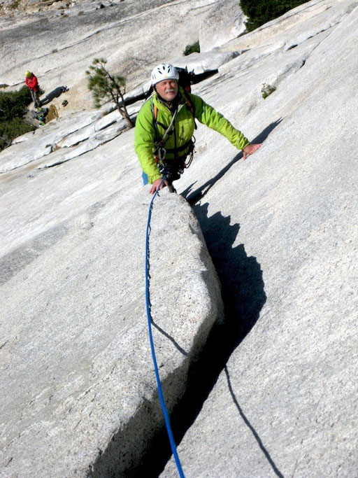 Snake Dike-L2, on Half Dome, Yosemity - California