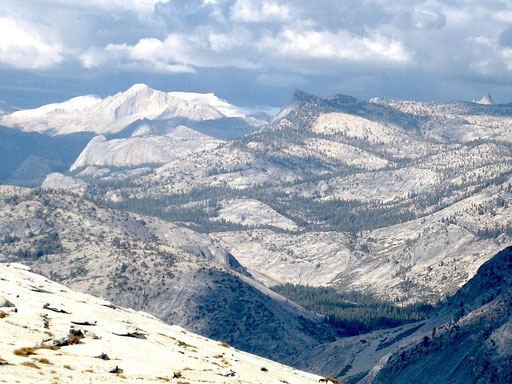 Mount Conness in the back, Tuolomne Meadows - California