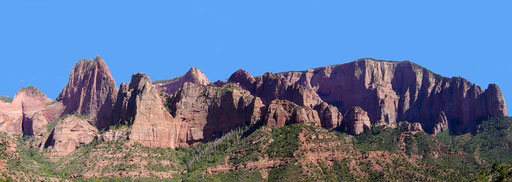 Kolob Canyon, Zion National Park - Utah