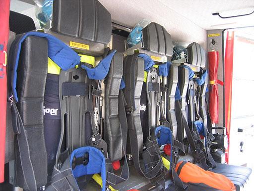 Atemschutzgeräte für Mannschaft