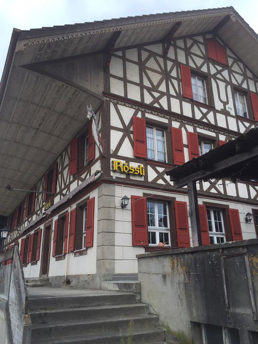 Unser Härzstück im ehemaligen Restaurant Rössli