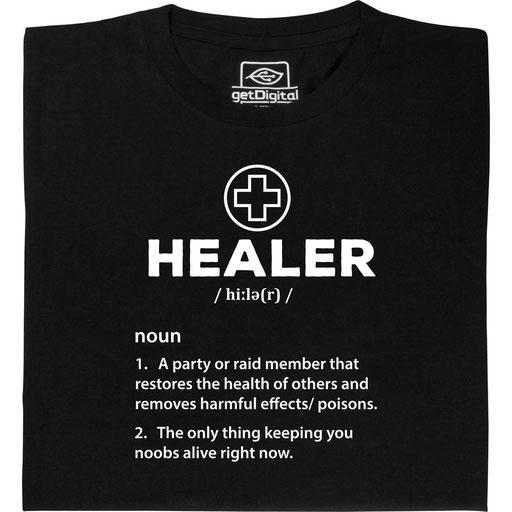Rollenspiel Charakter Healer