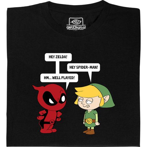 Zelda meets Spiderman