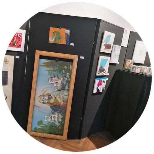2 bis 4 Paravent-Elemente 180 x 180 cm   ca. 25 Ausstellungsexponate