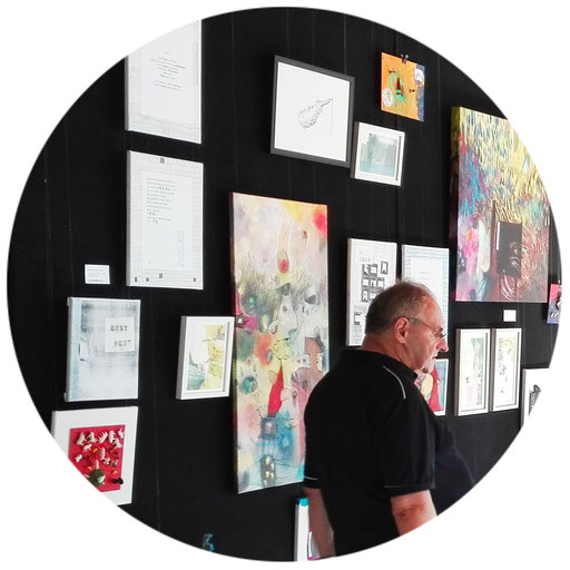KUNSTwand(eln) | 2019 | Transform-Arte Kunstmesse | Eisenstadt | Werke: manutober, Zinner Tatjana