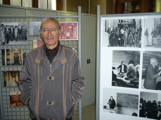 Serge Koster, ancien professeur de Français