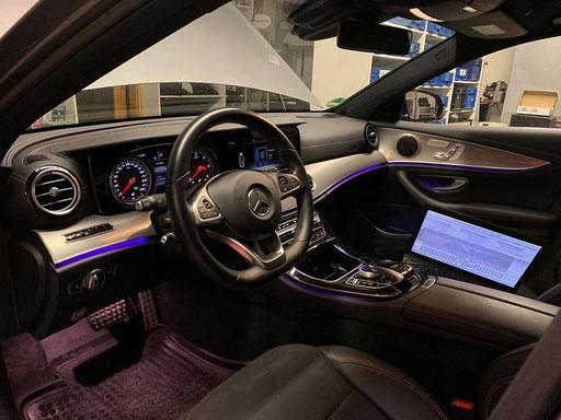 Mercedes W205 einmessen