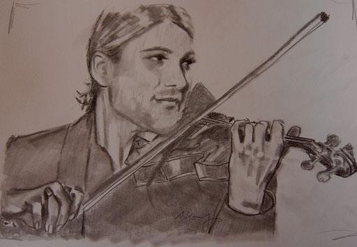 """Bleistift auf Papier """"David G.""""                                                    2011"""