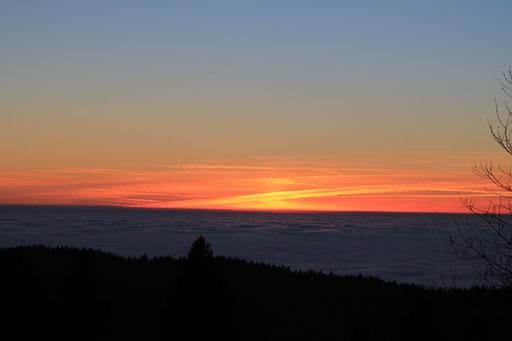 Ein Sonnenuntergang zum träumen
