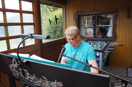 Livemusik mit Markus