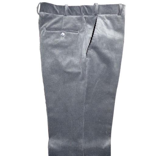 pantalon de ville homme velours élastique en glissière