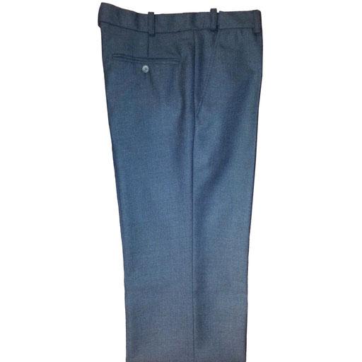 pantalon de ville homme polyester et laine élastique en glissière
