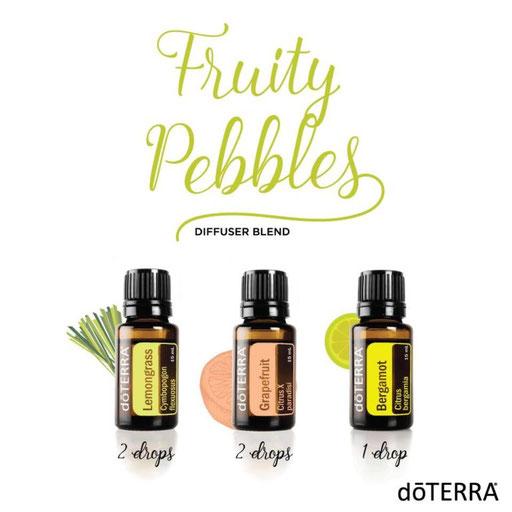 Aroma Welt: doTERRA Bergamot - Bergamotte Ätherisches Öl Diffusermischungen - Diffuser Ideen: Fruity Pebbles - Lemongrass & Grapefruit