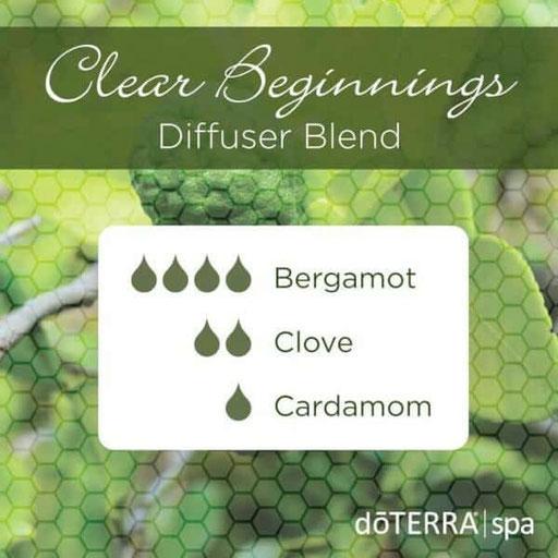 Aroma Welt: doTERRA Bergamot - Bergamotte Ätherisches Öl Diffusermischungen - Diffuser Ideen: Clove & Cardamom