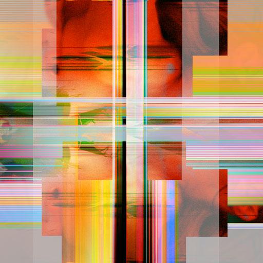 Crossing 01_2015_180x180 cm_Aludibond mit glänzender Oberflächenkaschierung