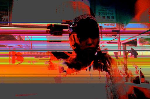 Robotic girl 02.1_2011_Direktdruck auf Aludibond