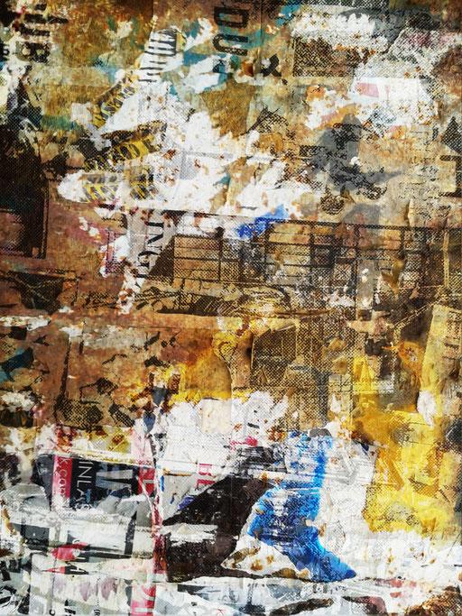 Canvas I 07_2014_100x175 cm_Aludibond mit glänzender Folienkaschierung
