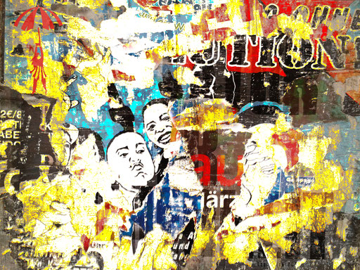 Canvas II 01_2014_100x75 cm_Stoffdruck