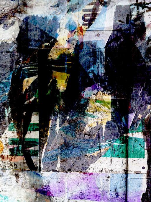 Canvas I 08_2014_100x175 cm_Aludibond mit glänzender Folienkaschierung
