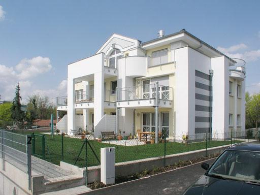 Villa mit Keller als Weiße Wanne