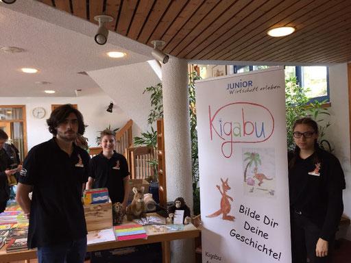 Kigabu präsentiert sich auf 4. Kinder-& Jugendbuchtag Waldbronn