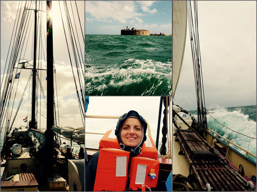 Überfahrt nach Alderney