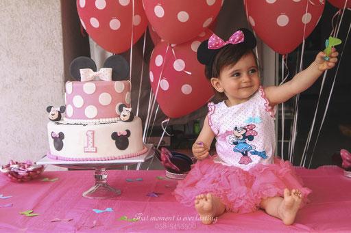 הנסיכה על שולחן המתוקים - צילום יומי הולדת