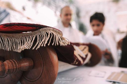 צילום הטקס מזווית שונה