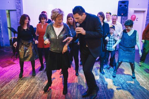 הרחבה, הריקודים - יום הולדת 50