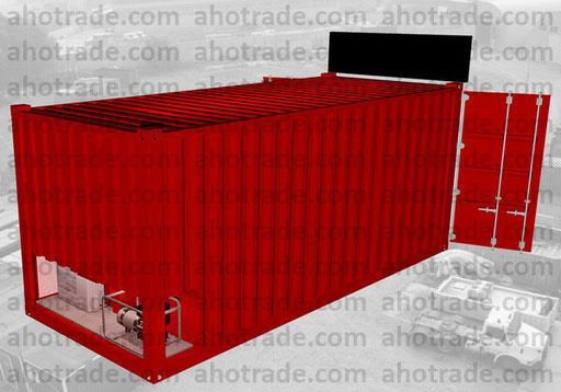 Складской 20 фт. контейнер модифицированный