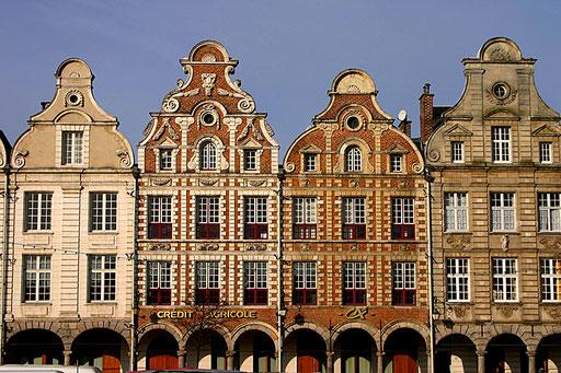 Les places d'Arras