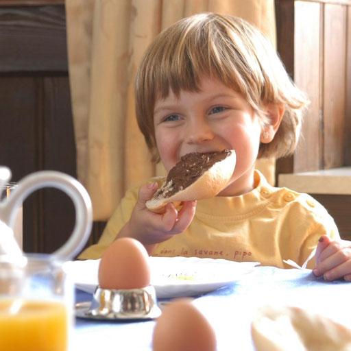 Frühstückbuffett