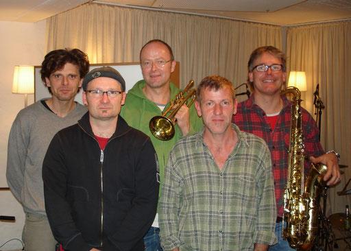 Studio mit K. Wienstroer, M. Speight, Ch. Fischer, R. Weber, M. Heemann