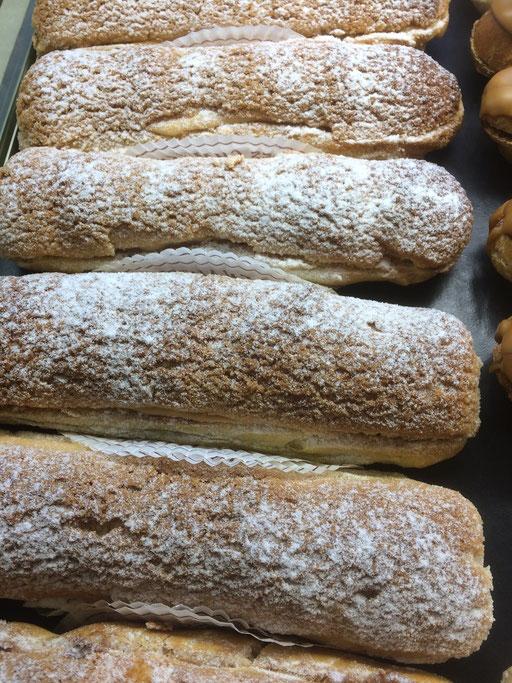 Eclairs mascarpone de la boulangerie pâtisserie PREISLER à Courcelles-Chaussy