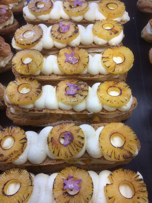 Eclairs Exotique de la boulangerie pâtisserie PREISLER à Courcelles-Chaussy