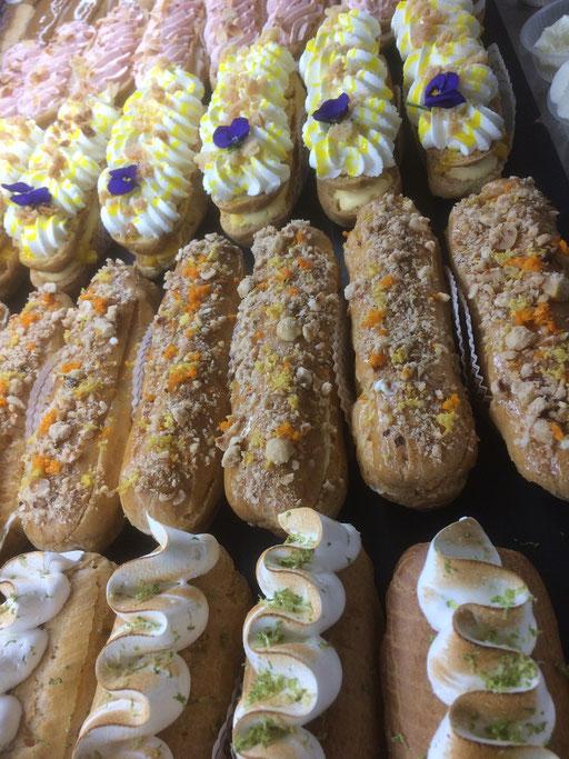 Eclairs Citron meringué de la boulangerie pâtisserie PREISLER à Courcelles-Chaussy