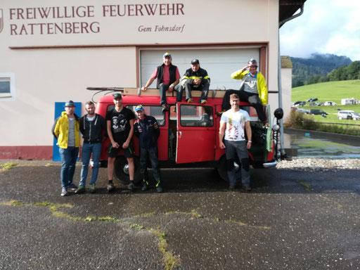 Zu Besuch bei der Feuerwehr Rattenberg