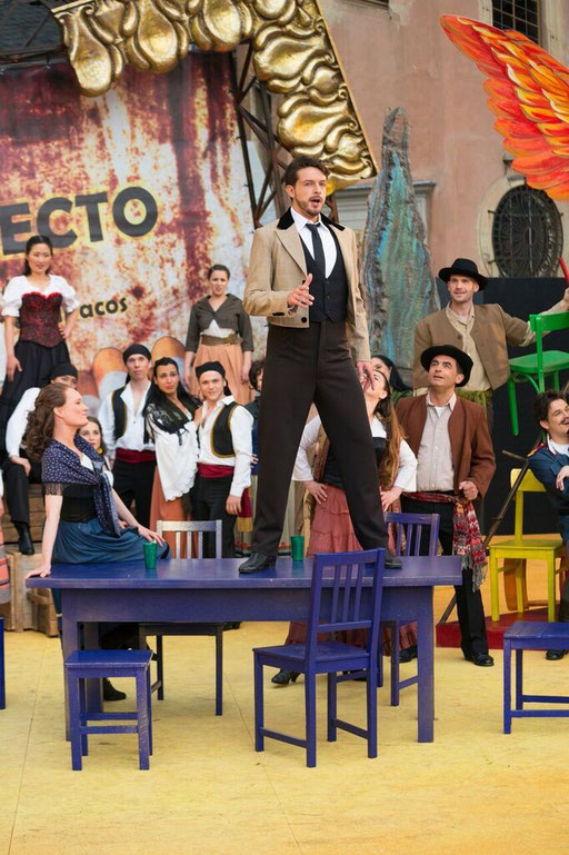 """""""Escamillo"""" in """"Carmen"""" bei den Schlossfestspielen Sondershausen / ©Tilmann Graner"""
