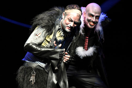 """""""Marullo"""" in """"Rigoletto"""" am Theater Gera / ©Sabina Sabovic"""