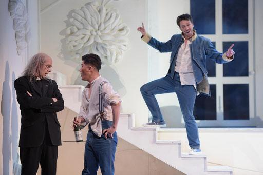 """Guglielmo"" in ""Cosi fan tutte"" am Saarländischen Staatstheater / ©Martin Kaufhold"