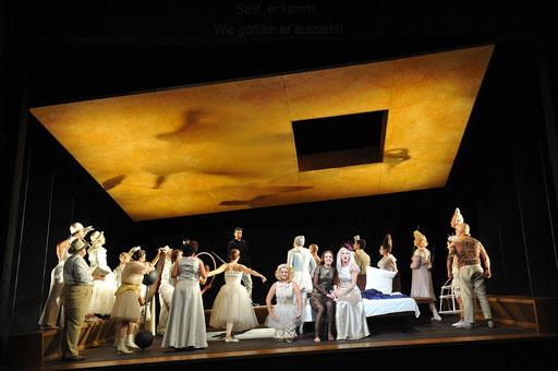 """Aeneas"" in ""Dido und Aeneas"" am Landestheater Coburg"" / ©Andrea Kremper"
